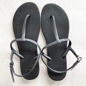 Havaianas Riviera Sandals In Black